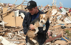 Pet Pangaea is acting as a collection point for donations for the animal victims in Oklahoma City