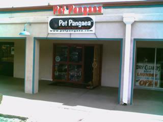 Pet Pangaea store front